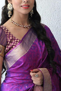 Beautiful Soft Silk Designer Saree UK30039