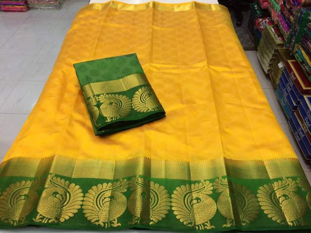 Original Kanjivarm Saree 522