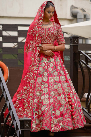 NEW LOOK WEDDING WEAR LEHENGA CHOLI - AE-1001