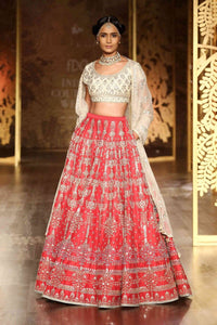 ALLURING WEDDING WEAR LEHENGA CHOLI - AE-1008