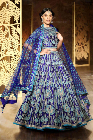 ALLURING WEDDING WEAR LEHENGA CHOLI - AE-1009