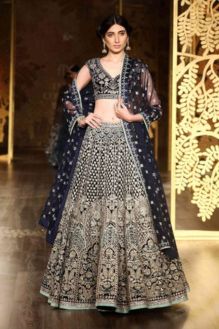 NEW LOOK WEDDING WEAR LEHENGA CHOLI - AE-1010