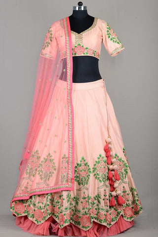 BEAUTIFUL WEDDING WEAR LEHENGA CHOLI - AE-1012