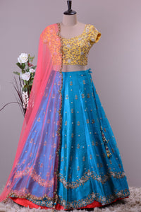 AWSOME WEDDING WEAR LEHENGA CHOLI - AE-1013