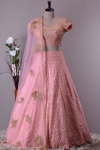 INDIAN WEDDING WEAR LEHENGA CHOLI - AE-1016