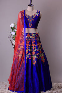 DESIGNER WEDDING WEAR LEHENGA CHOLI - AE-1020