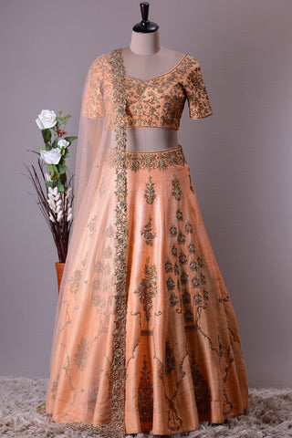 BEAUTIFUL WEDDING WEAR LEHENGA CHOLI - AE-1023