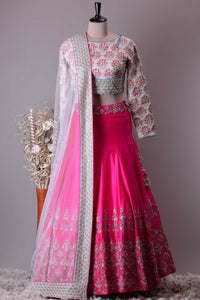NEW LOOK  DESIGNER WEDDING WEAR LEHENGA CHOLI - AE-1026