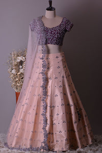 GLORIOUS WEDDING WEAR LEHENGA CHOLI - AE-1028