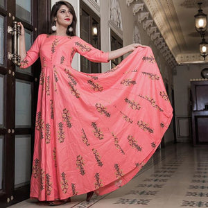 Pure american crepe traditional gown BN-1052