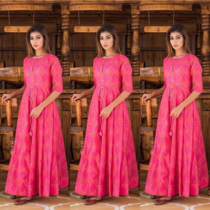 Pure american crepe traditional gown BN-1058