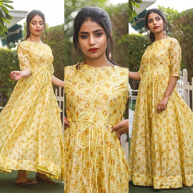 Pure american crepe traditional gown BN-1065