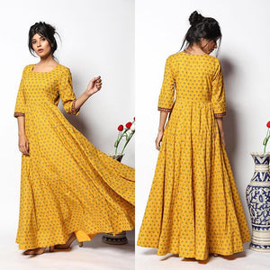 Pure american crepe traditional gown BN-1066