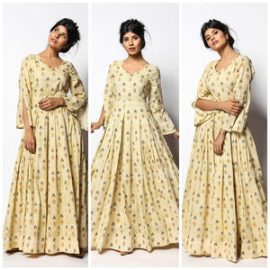 Pure american crepe traditional gown BN-1069