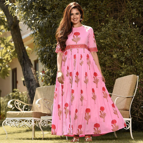 Pure american crepe traditional gown BN-1013