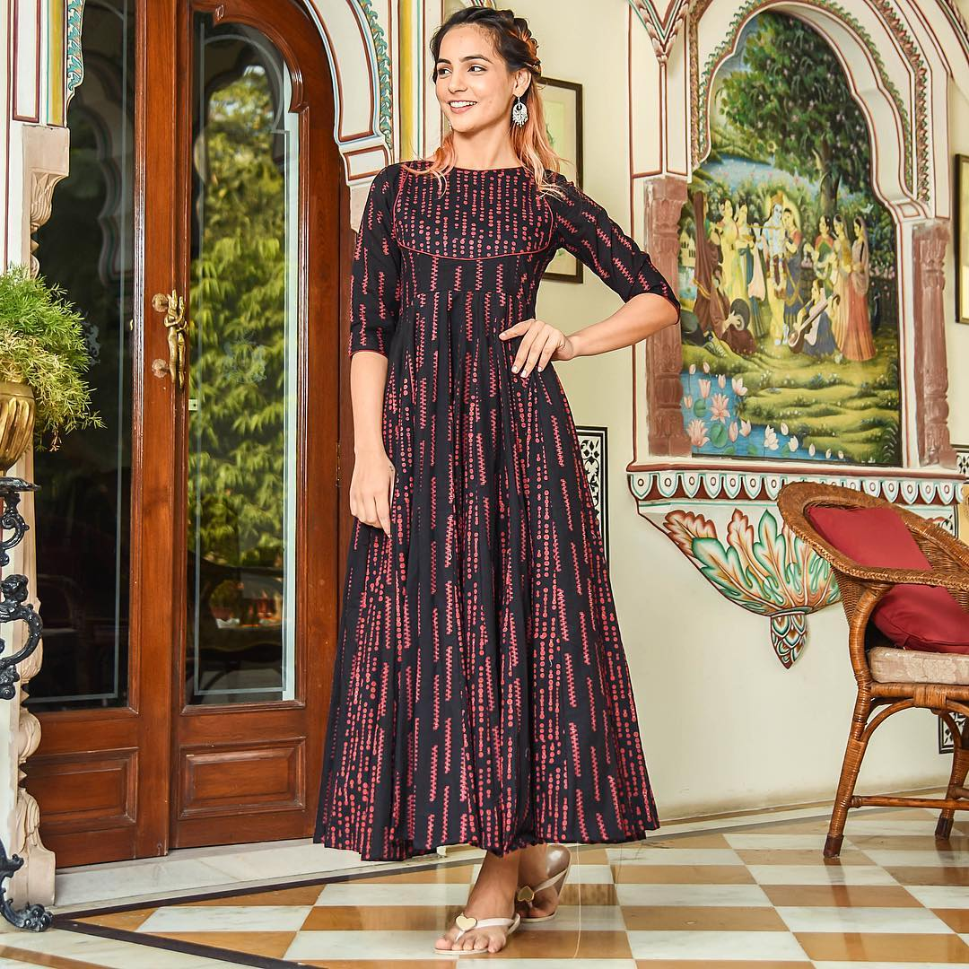 Pure american crepe traditional gown BN-1019