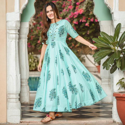 Pure american crepe traditional gown BN-1027