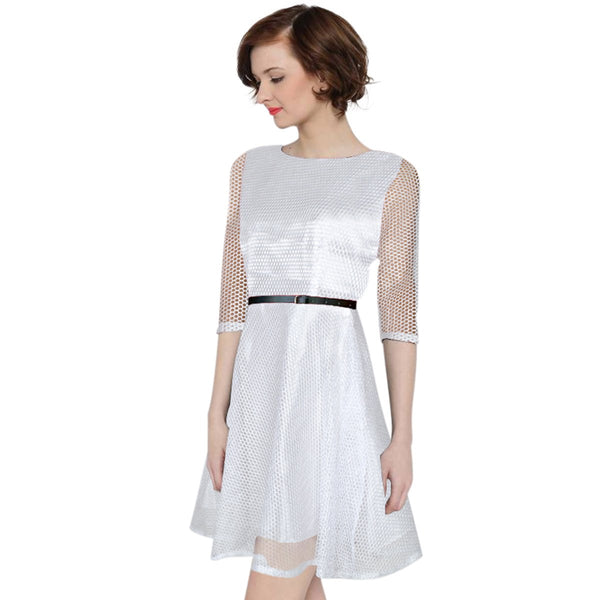 Awsome Exclusive Designer White Dress