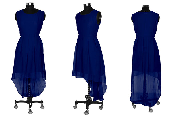 Awsome Exclusive Designer Nevy Blue Dress