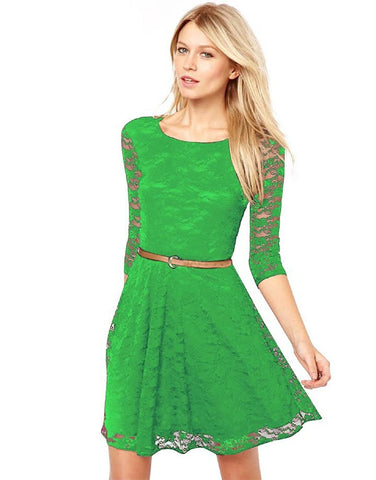 Fancy Exclusive Bollywood Designer Green Dress
