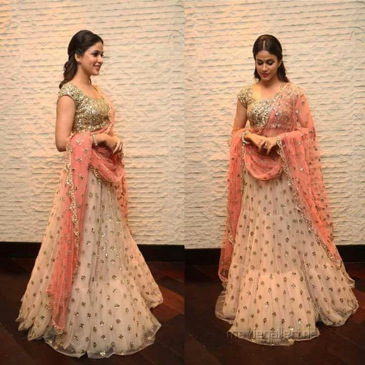 Fancy Pink Color Embroidered Semi-stitched Lehenga Choli