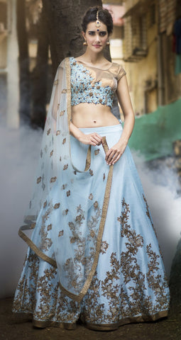 NEW DESIGNER WEDDING WEAR LEHENGA CHOLI - JN-013