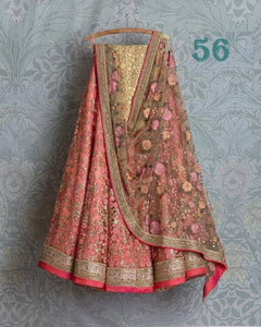 New Fancy Designer Multi Color Embroidered Work Lehenga choli