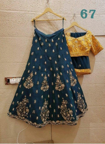 New Exclusive Designer Embroidery Work Lehenga choli
