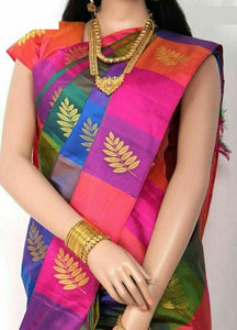 Awesome  Colour Soft Silk Designer Saree UK566