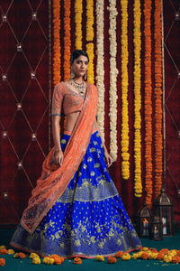 NEW EXCLUSIVE WEDDING WEAR LEHENGA CHOLI - NV-002