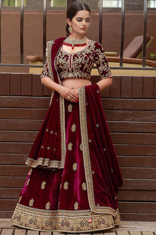 EXCLUSIVE WEDDING WEAR LEHENGA CHOLI - NV-007