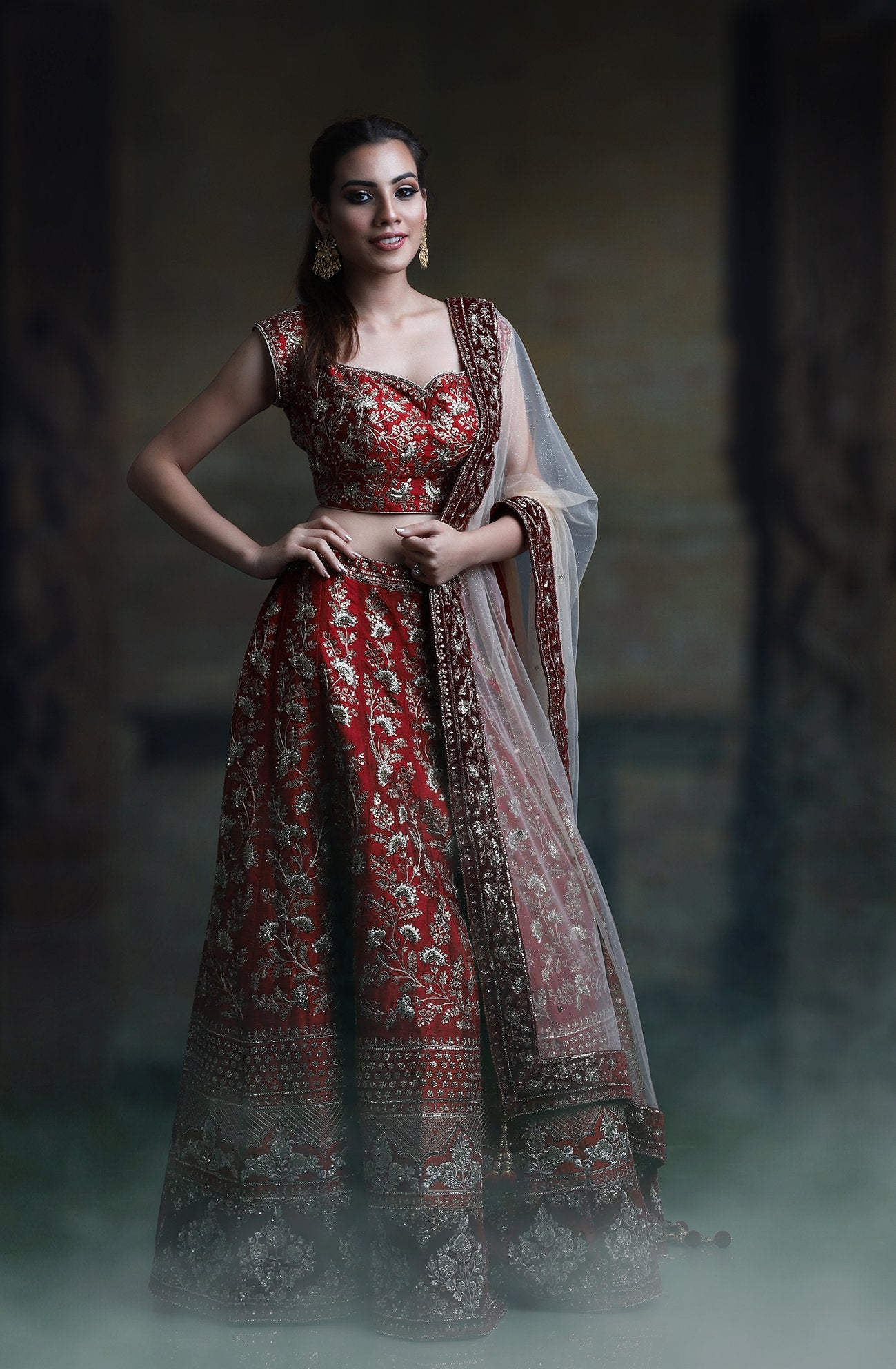 NEW LOOK WEDDING WEAR LEHENGA CHOLI - NV-013