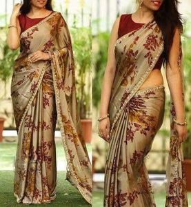 Designer Soft Silk Multi Color designer Sarees 012