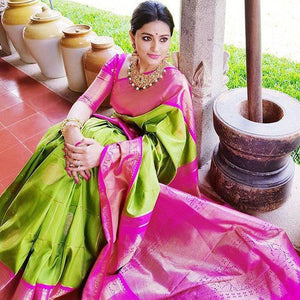 Beautiful Color Soft Silk Designer Saree UK5003