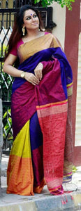 Awesome Colour Soft Silk Designer Saree UK2169