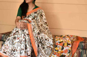 Awesome Colour Soft Silk Designer Saree UK2223