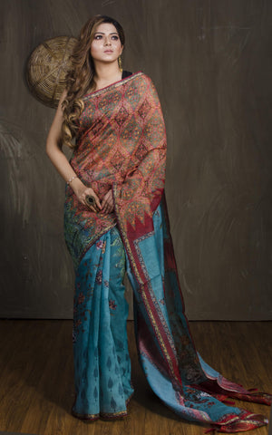 Designer  Colour Soft Silk Designer Saree UK2224