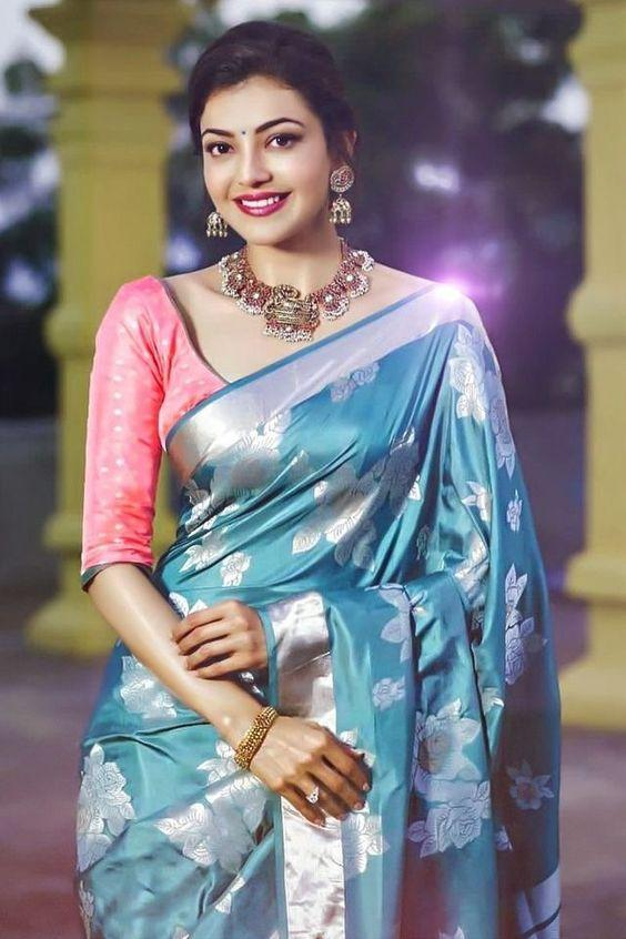 Awesome  Colour Soft Silk Designer Saree UK30307