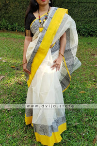 Linen Digital Printed Saree MS-1431