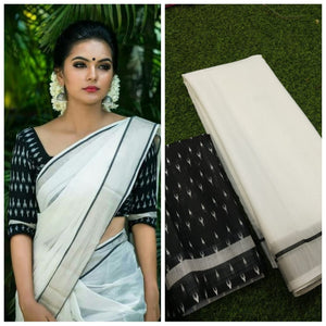 Linen Digital Printed Saree MS-1624