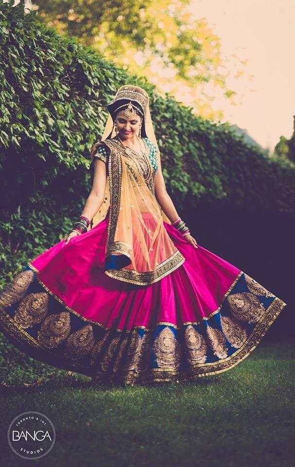 New Wedding Wear Semi-Stitched Designer Lehenga Choli