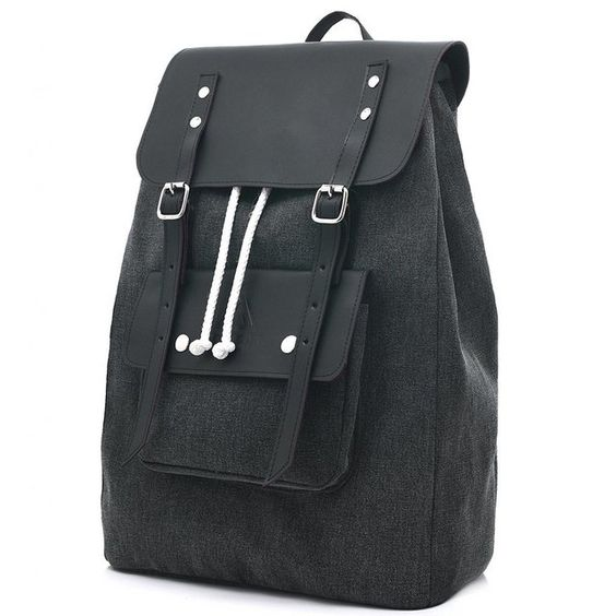 BONFIRE 18L CUERO ROUGH BLACK