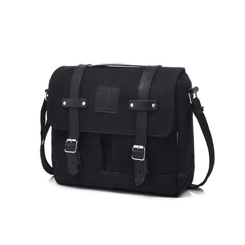 SATCHEL 11L TOTAL BLACK