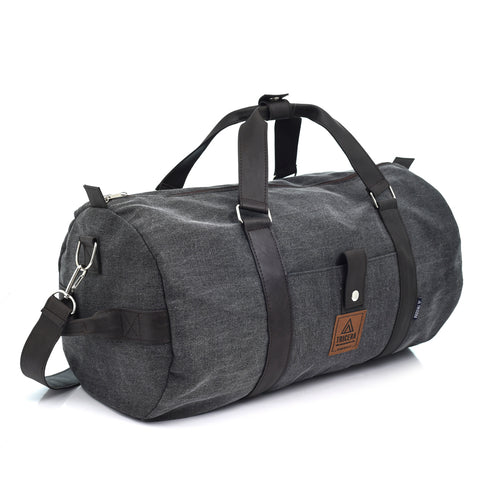 DUFFLE ROUGH BLACK
