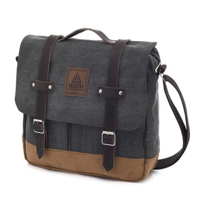 SATCHEL 11L ROUGH BLACK