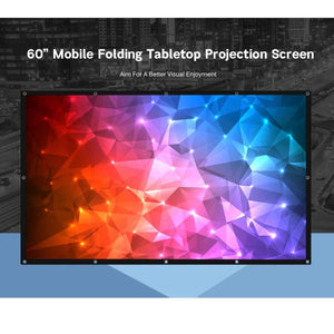 60 inches 16:9 Projector Screen - screen