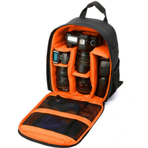 Multi-functional Camera Backpack Video Digital DSLR Bag Waterproof Outdoor Camera Photo Bag Case for Nikon Canon DSLR