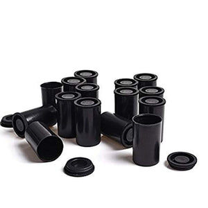 Black Canisters for 35 mm Film