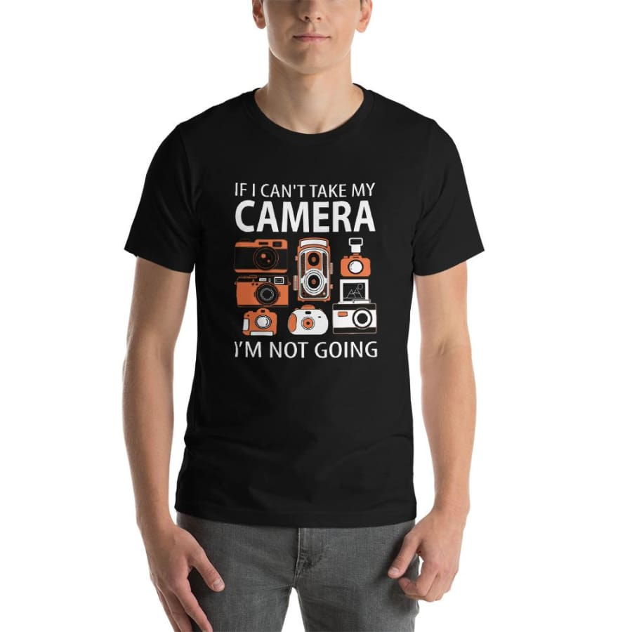 Camera FilmmKing New Unisex T-Shirt - Black / XS