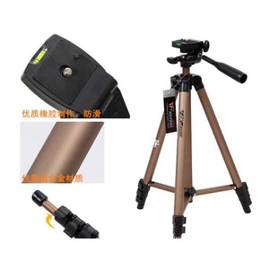DSLR Camera Tripod with Rocker Arm Carry Bag